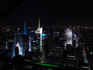 View from Empire State Bldg.